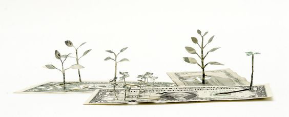 Incluso el más humilde trozo de papel puede crear algo sorprendente http://www.yukenteruyastudio.com