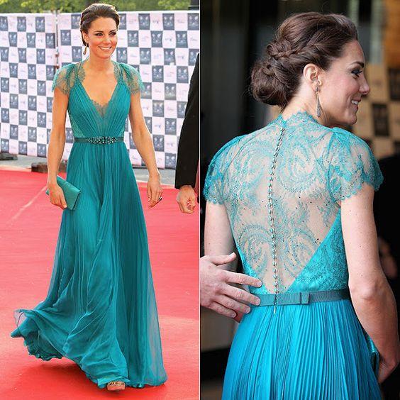 Vestido lindo... Azul turquesa