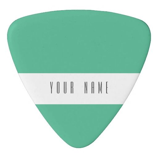 colorful picks | Light Mint Green High End Colored Matching Pick
