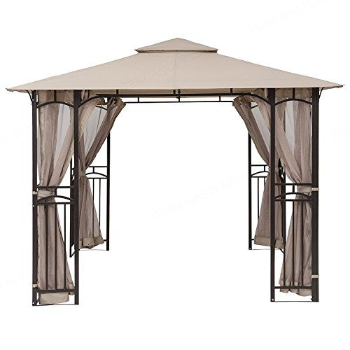 Mastercanopy 10 X 10 Mosquito Netting Screen Walls For 10 X 10 Gazebo Canopyonly Screen Walls Gazebo Canopy Gazebo Aluminum Gazebo