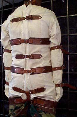 Authentic Straight Jacket - Coat Nj