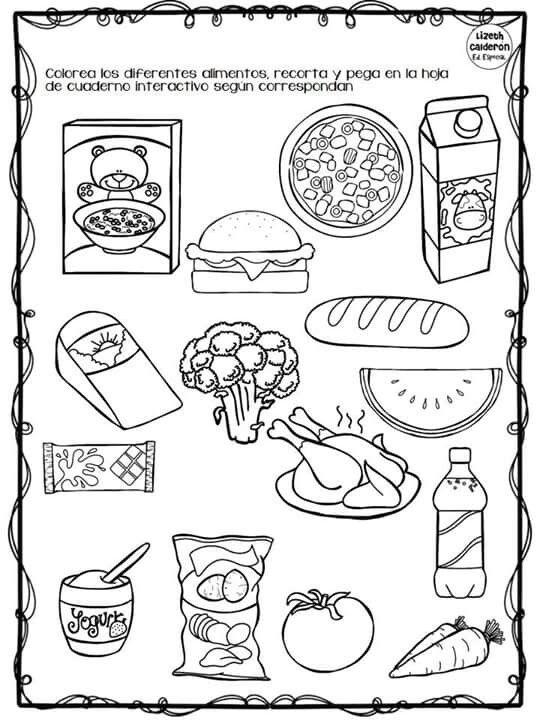 Alimentos Para Hacer Actividad De Compra Actividades De
