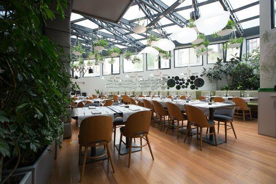 Inspiring Projects: Berthelotu0027s Modern Restaurant Design In Bucharest |  Modern Restaurant, Restaurant Design And Modern