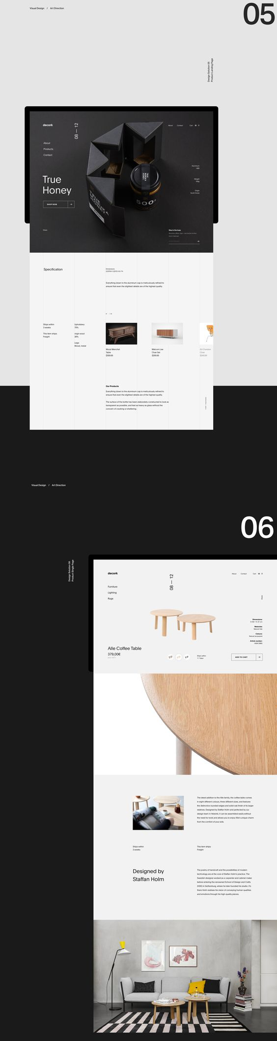 Decork — Website on Behance