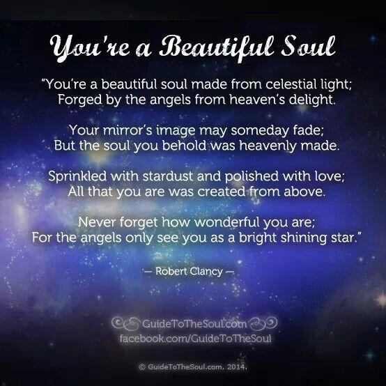 You're a beautiful sou...A Beautiful Soul Quotes