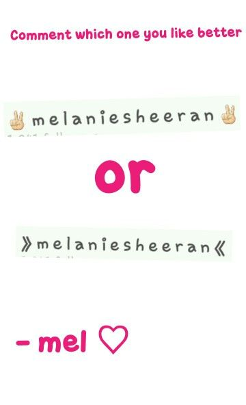 COMMENT WHICH ONE U LIKE BETTER
