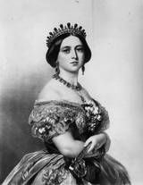 Queen Victoria of Great Britain. Original Artist: By T H Maquire. (1852)  (Photo by Hulton Archive/Getty Images)