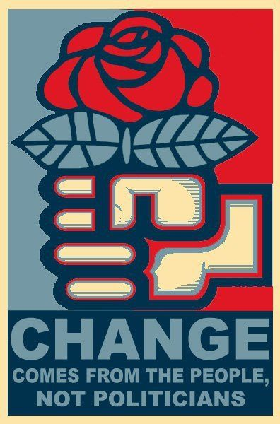 I'll vote when I have options.  Solidarity for change!