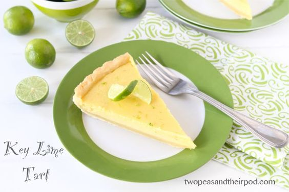 Key Lime Tart (Two Peas and Their Pod)