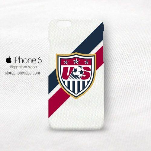 Alexandra Patricia Alex Morgan American Soccer Logo iPhone 6 Cover Case