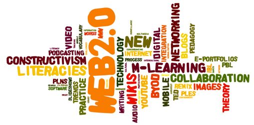 Becoming digitally literate (Wordle-2012.png)