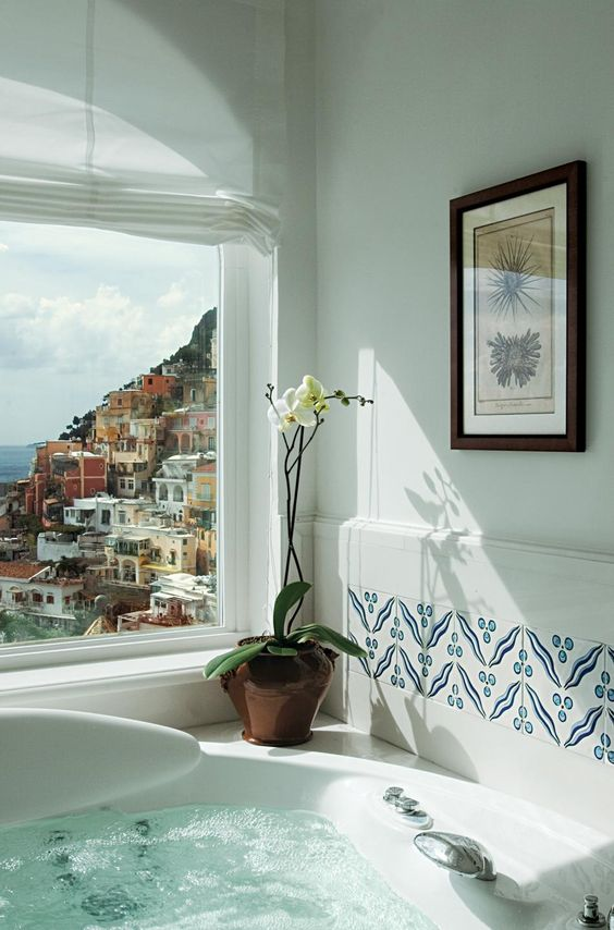Amalfi Coast view: