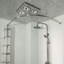 Image Result For Curved Shower Curtain Rod Round Shower Curtain