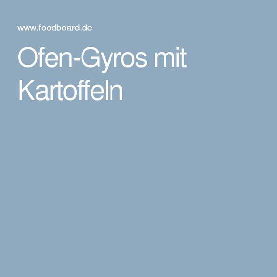 Ofen-Gyros mit Kartoffeln
