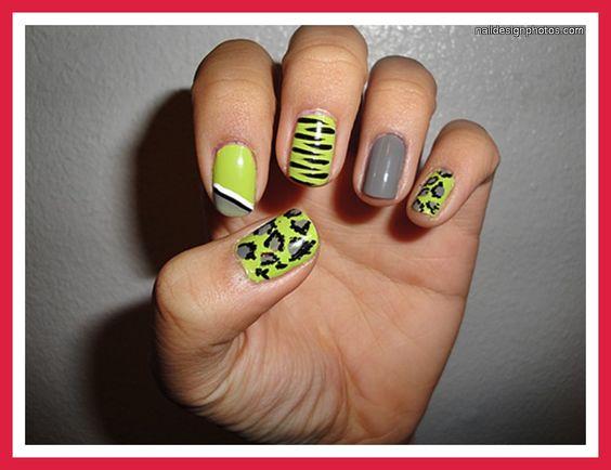 simple nail designs for short nails