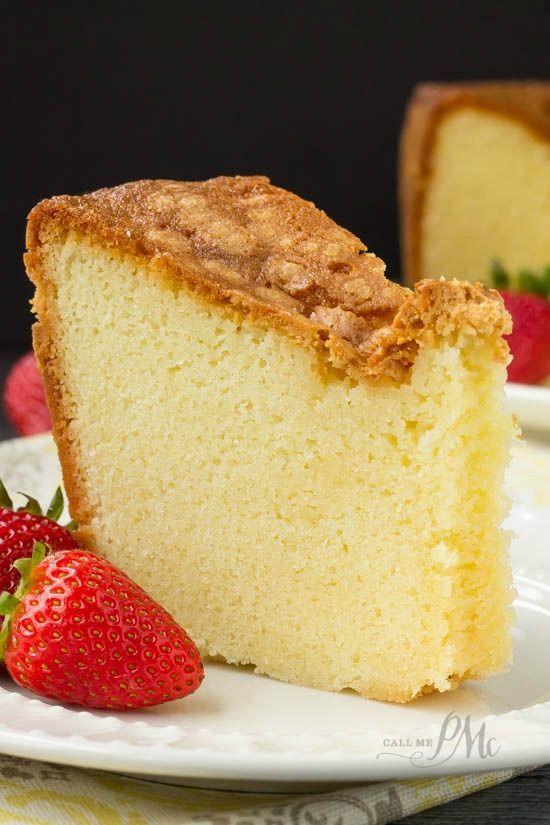 Recipe Small Pound Cake