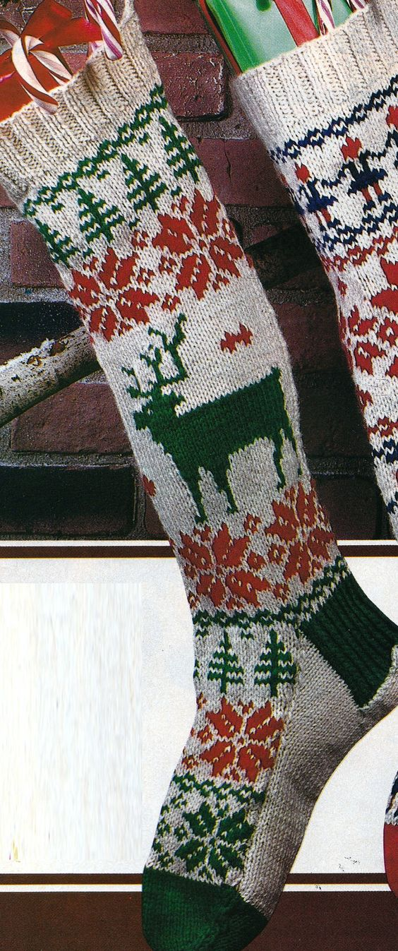 Knit Christmas Stockings Patterns : Pinterest   The world s catalog of ideas
