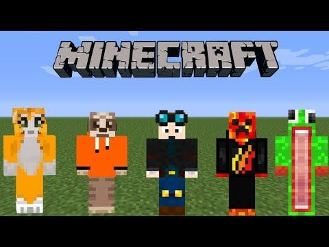 Minecraft Top 10 Best Minecraft Skins Ps34 Xbox