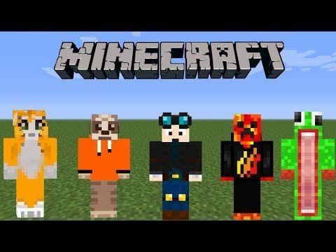 Minecraft Top 10 Best Minecraft Skins Ps3 4 Xbox Switch Wii U Pe Pc Minecraft Skins Minecraft Lol