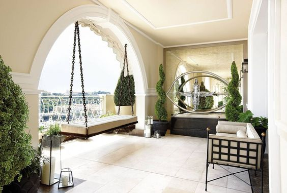 Traditional Outdoor Space by Candy & Candy in Monte Carlo, Monaco