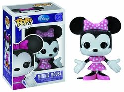 Minnie Mouse in the cutest bobblehead ever! Funko's Disney POP series continues with Minnie Mouse