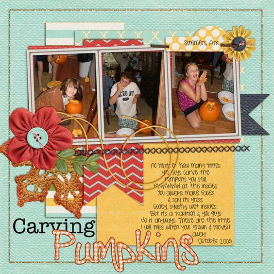 carving_pumpkins  crisp autumn- ponytails designs memory clips clips vol2 http://store.gingerscraps.net/Crisp-Autumn-ponytails.html