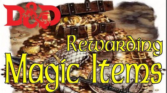 (5E D&D) Rewarding Magic Items - FREE GUIDE!