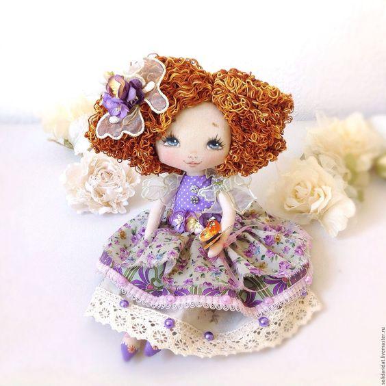 Купить Анюта - коллекционная кукла, ручная работа, малышка, лучший подарок девушке, лучший подарок: