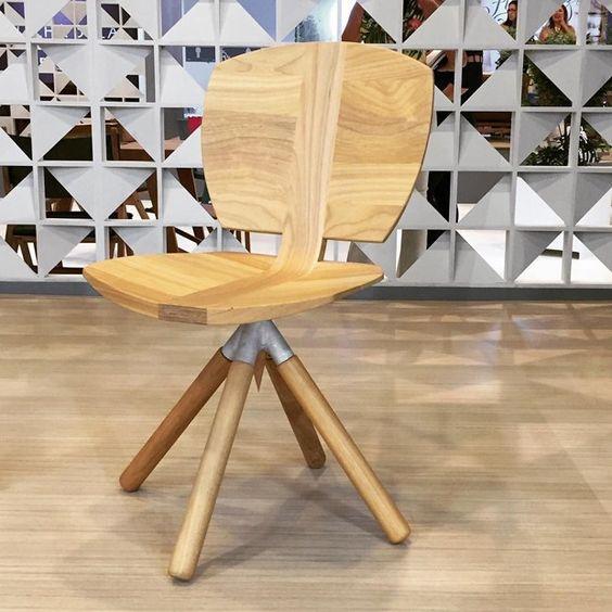 Cadeiras e poltronas são destaque da ABIMAD 2017 (Foto: Redação)