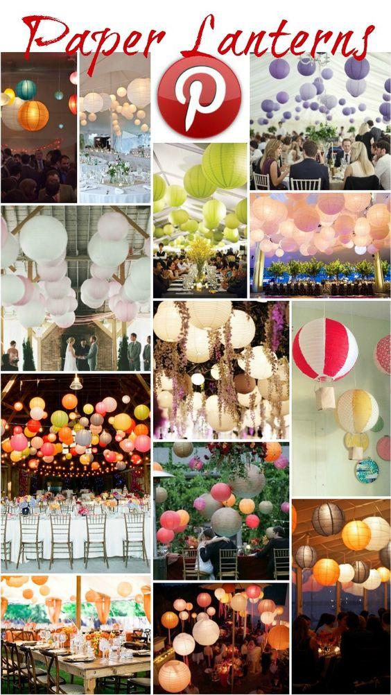 Boho Pins: Paper Lanterns