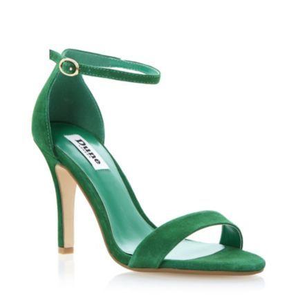 Green Ankle Strap Heels | Fs Heel