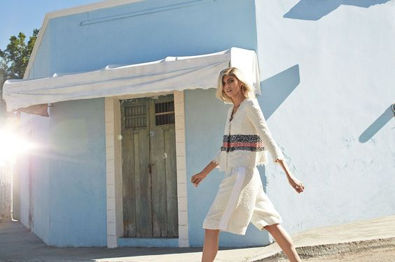 This Lookbook Is Giving Us Insane Wanderlust #refinery29  http://www.refinery29.com/net-a-porter-spring-lookbook#slide-1