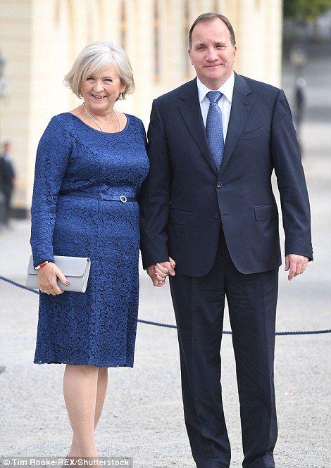 stefan löfven and his wife ile ilgili görsel sonucu