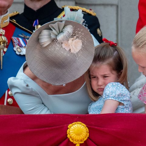 Princess Charlotte Falls at Trooping the Colour, Kate Middleton Saves the Day