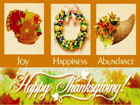 Happy Thanksgiving - 3D and CG Wallpaper ID 882225 - Desktop Nexus Abstract