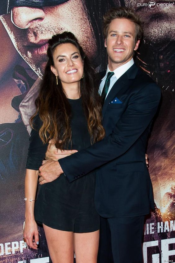 Armie Hammer and Elizabeth Chambers | Couple Style | Pinterest