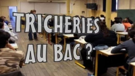 Actu Humour - De la fraude aux examens du BAC ? - Vidéo Dailymotion - La tricherie au BAC ? Peut être mais.....pas chez nous !