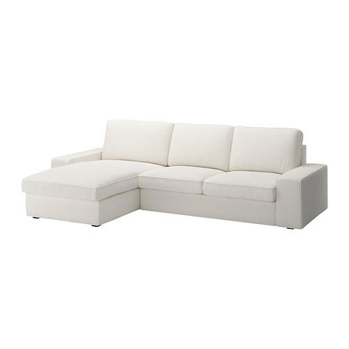 Kivik loveseat and chaise lounge ikea kivik is a generous - Chaise confortable ikea ...