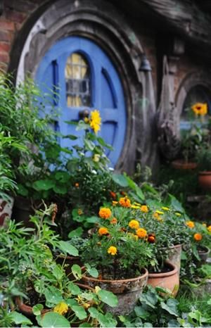 hobbithouses:    hobbits like flowers