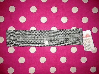 New Lululemon Fly Away Tamer Headband Herringbone sweat Band Yoga Sport Fitness   eBay