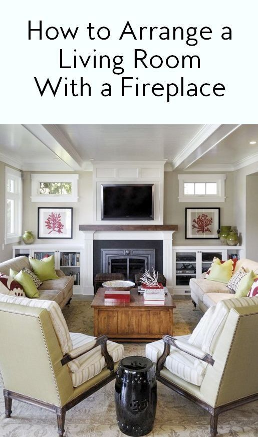 Small Living Room Arrangements With Tv And Fireplace 7 Ways To Arrange A Living Room In 2020 Fireplace Furniture Arrangement Living Room Arrangements Livingroom Layout