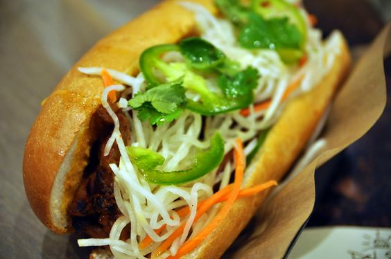 spicy BBQ pork banh mi | Sandwiches | Pinterest | Bbq Pork, Spicy and ...