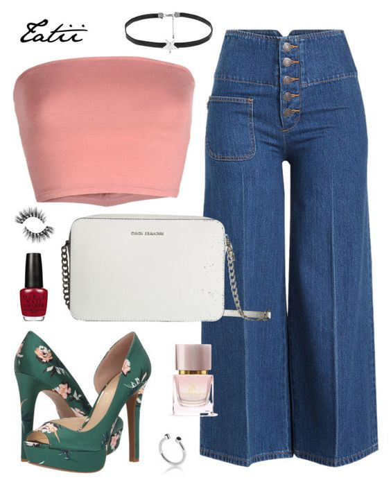 """Sem título #88"" by tatianabraolis on Polyvore featuring moda, Marc Jacobs, Annarita N., Jessica Simpson, MICHAEL Michael Kors, Burberry, Love Rocks e Maya Magal"