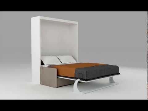 Compact Space Saving Queen Size Wall Bed Best Solution For Small