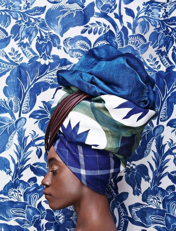 Keshia Asiedu  by Konstantin Egon for AD Magazine Russia