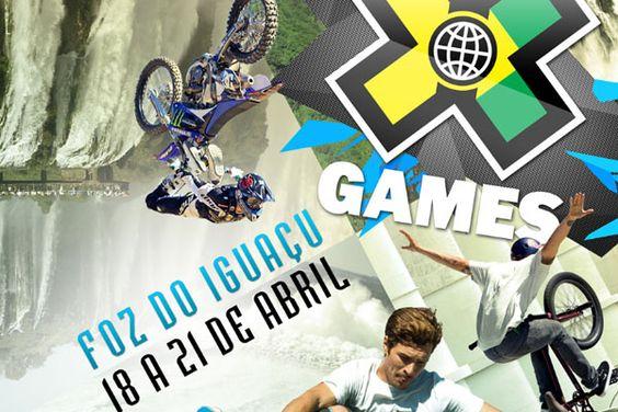 As três arenas, Parque Nacional do Iguaçu, Parque Infraero e Usina Hidrelétrica de Itaipu, receberão 15 competições do X Games Foz do Iguaçu, nas modalidades Skate, MotoX, BMX e RallyCross.
