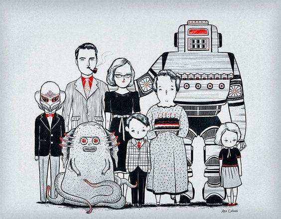 Ana Galvañ, historias ilustradas   ANORMALMAG   Creatividad & Tendencias - via http://bit.ly/epinner