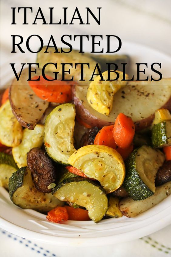 Best Italian Roasted Vegetables