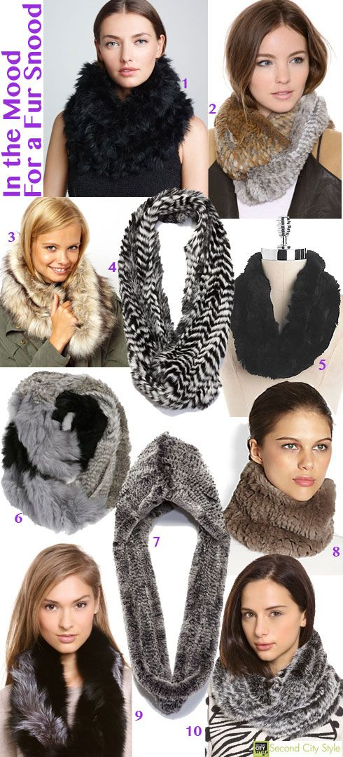 Fall '13 Accessory Trend: I'm In the Mood For a #Fur Snood: