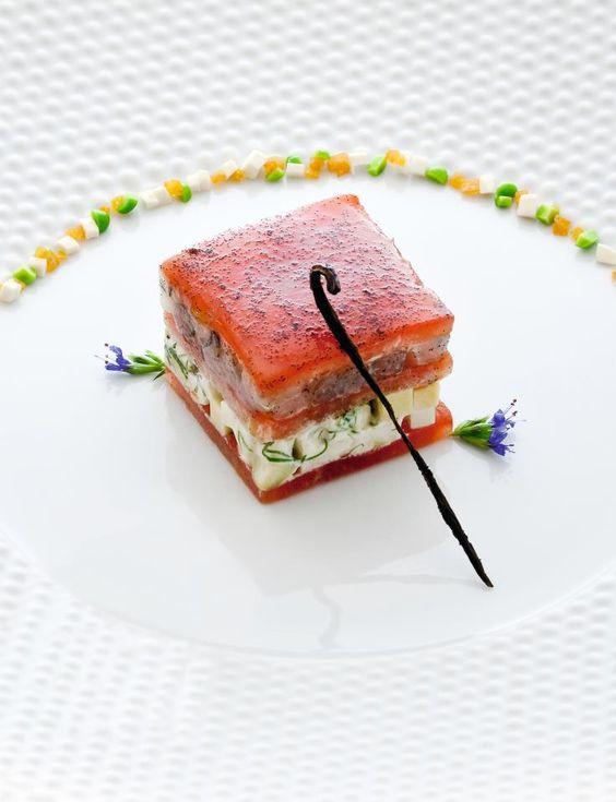 A delicious meal of Chef Eric Briffard -- Four Seasons Hotel George V Paris (© by Richard Haughton)… <3 <3 <#: